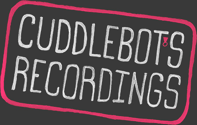 Cuddlebot's Recordings logo and home button
